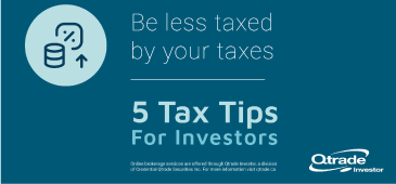Be less taxed by your taxes - 5 tax tips for investors